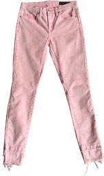 Blank NYC Millennial Distressed Jeans, Pink