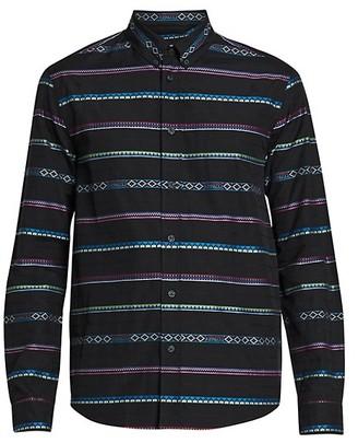 Kenzo Casual-Fit Stripe Cotton Shirt