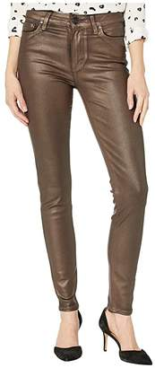 Paige Hoxton Ultra Skinny Jeans in Pearlized Copper Coating (Pearlized Copper Coating) Women's Jeans
