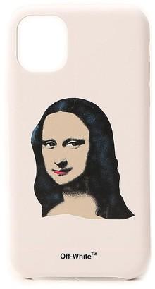 Off-White Mona Lisa Print iPhone 11 Case