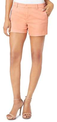 Liverpool Los Angeles Liverpool Cole Crochet-Trim Shorts