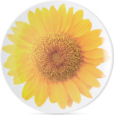 Kate Spade Patio Floral Collection Sunflower Accent Plate