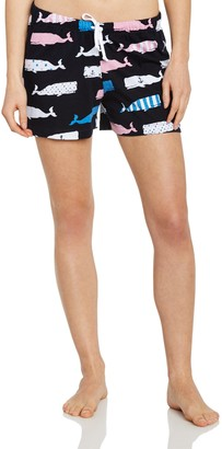 Hatley Little Blue House By Women's Whales LBH Boxer
