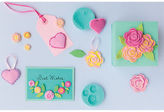 Martha Stewart Crafter's Clay Silicone Molds 4/pkg-romantic