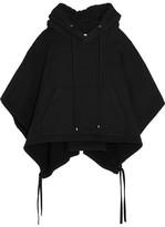Facetasm Cotton-jersey Hooded Sweatshirt - Black