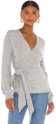 Lovers + Friends Nolen Tie Front Sweater