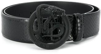 Just Cavalli Serpent-buckle belt