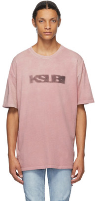 Ksubi Pink Sign Of The Times T-Shirt