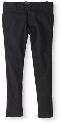 Cherokee Girls 4-16 School Uniform Skinny Pants with Welt Pockets and Belt Loops