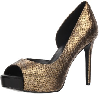 Nine West Women's Expensive Metallic Pump