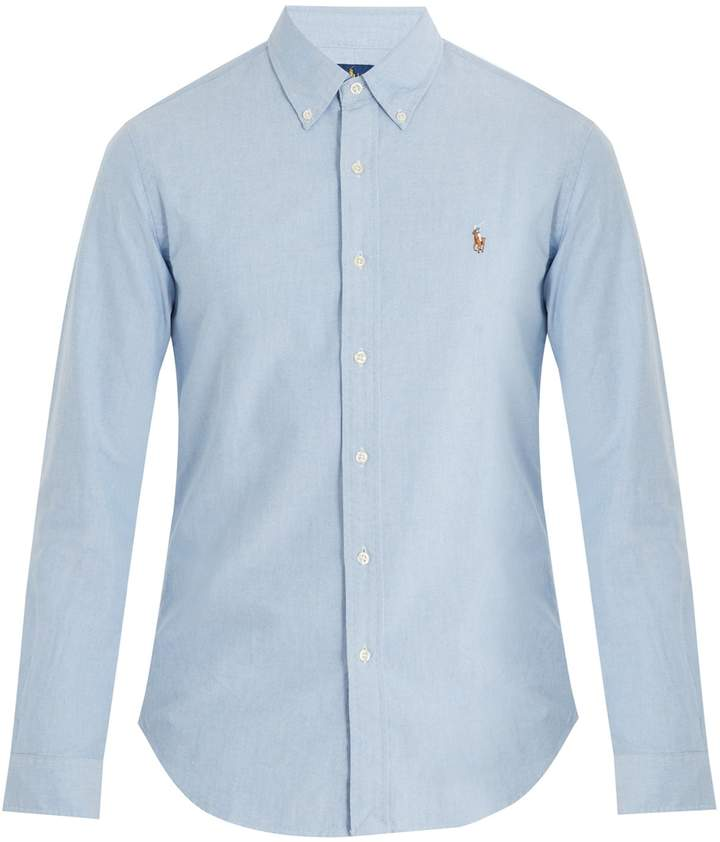 Polo Ralph Lauren Logo-embroidered single-cuff cotton shirt