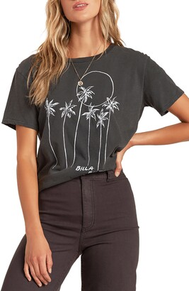 Billabong Mas Palms Graphic Tee