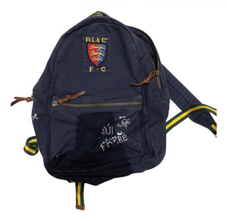 Polo Ralph Lauren Navy Cloth Bags