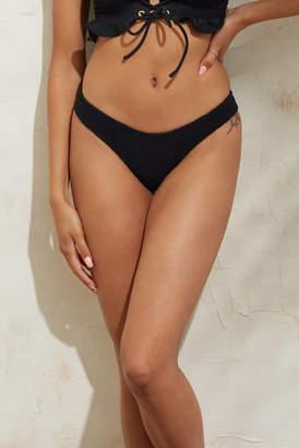 Peixoto Cayo Black Bikini Bottom Black M