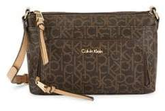 Calvin Klein Textured Faux Leather Crossbody Bag