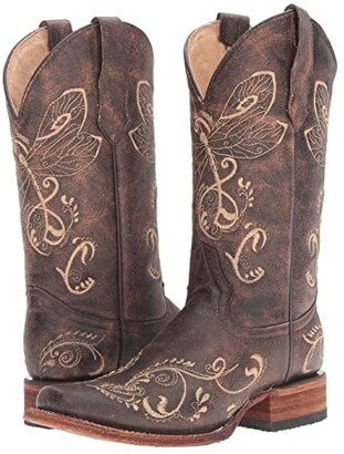 Corral Boots L5079 (Brown/Bone) Women's Boots