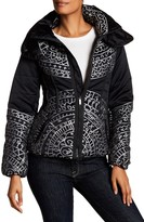 Desigual Heavyweight Double Stand Up Collar Coat
