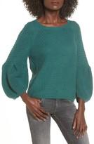 Leith Women's Bubble Sleeve Sweater
