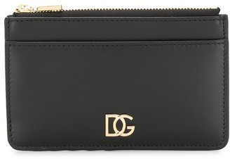 Dolce & Gabbana Millennials crossed logo card holder