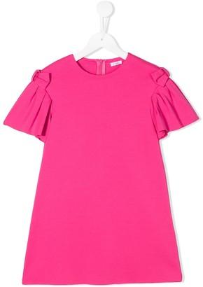 Il Gufo pleated-sleeve T-shirt dress