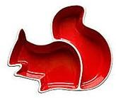 Sagaform Squirrel Serving Bowl