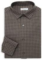 Charvet Check Dress Shirt