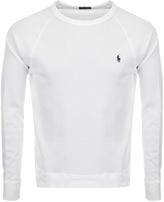 Ralph Lauren Crew Neck Sweatshirt White
