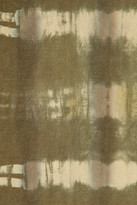 Michael Kors Tie-dye hemp-broadcloth pants