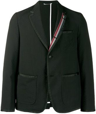 Thom Browne Seersucker Unconstructed Sack Sport Jacket