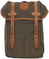 Fjallraven Small No. 21 Canvas & Leather Backpack