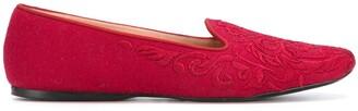 Giorgio Armani Pre Owned 1990's Jacquard Slippers