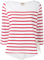Semi-Couture Semicouture - striped top - women - Cotton - S