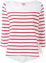 Semi-Couture Semicouture - striped top - women - Cotton - XS
