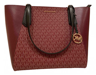 Michael Kors Burgundy Leather Handbags