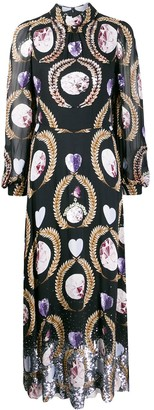 Temperley London Crystal Print Dress