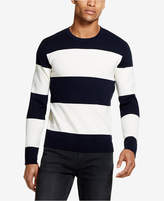 DKNY Men's Large Striped Milano Sweater, Created for Macy's