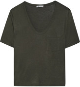 Alexander Wang Jersey T-shirt - Army green