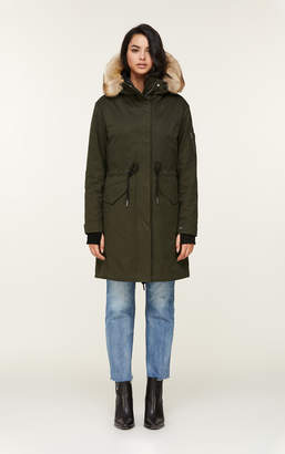 Soia & Kyo ELLOISE 3-in-1 coat with a Thermolite layer and faux fur