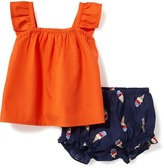 Old Navy 2-Piece Sleeveless Top and Bloomers Set for Baby