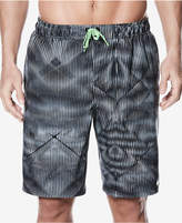 Nike Men's Techno Tear Printed Swim Trunks