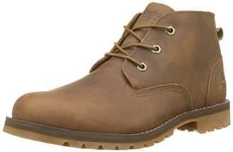 Timberland Men's Larchmont Waterproof Chukka Boots, Brown (Dark Brown Full Grain), 8.5 UK EU