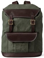Filson Men's Rugged Canvas Backpack - Green