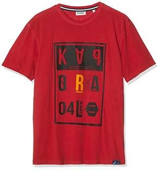Kaporal Men's GREZ T - Shirt, M11 Red, L