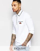 Ellesse L.s Long Sleeve Polo Shirt