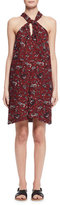 Etoile Isabel Marant Aba Floral Voile Shift Dress