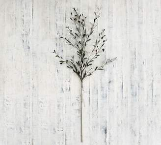 Pottery Barn Faux Olive Branch