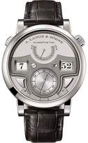 A. Lange & Söhne A. Lange and Sohne Zeitwerk 147.025 Platinum / Leather 44.2mm Mens Watch