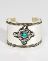 Asos Decorated Stone Cuff Bracelet