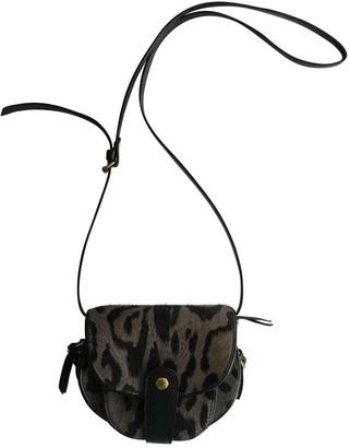Jerome Dreyfuss Momo Anthracite Pony-style calfskin Handbags
