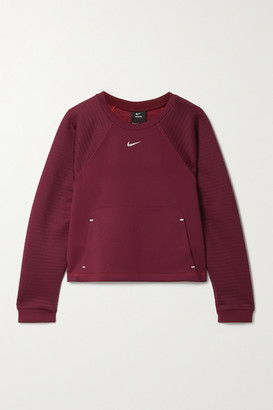 Nike Pro Perforated Neoprene Top - Claret